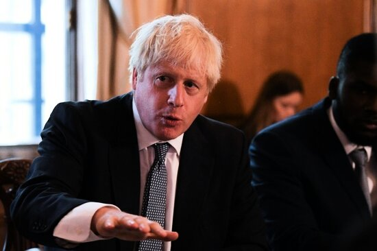 Premierminister Boris Johnson in London